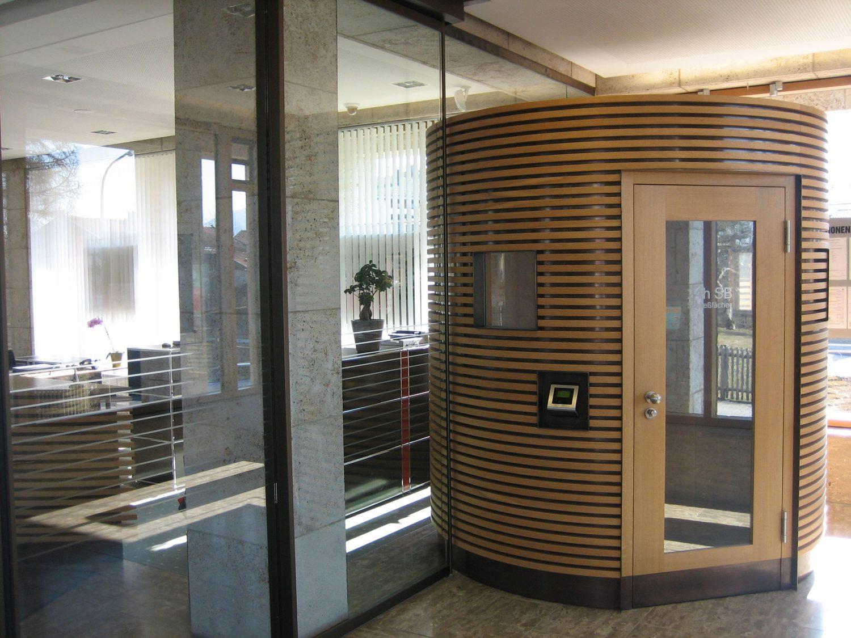 Innenarchitektur Leistungsphasen sparkassengeschäftsstelle mit architekturbüro in waakirchen abh